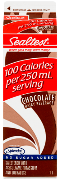 Sealtest Chocolate Dairy Beverage Sweetened with Splenda®