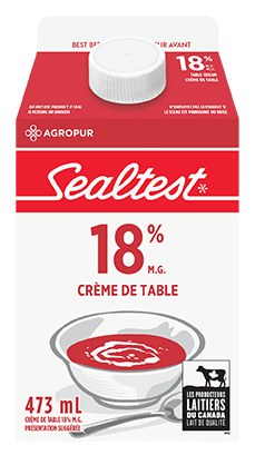Crème à table 18% Sealtest