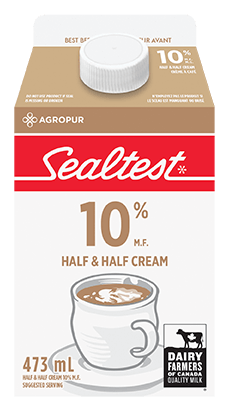 Cream Half and Half 10% Sealtest