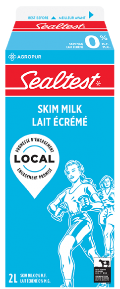 Sealtest Skim White Milk