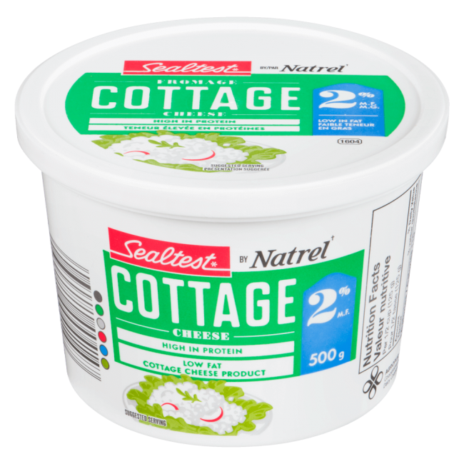 2 Cottage Cheese Sealtest