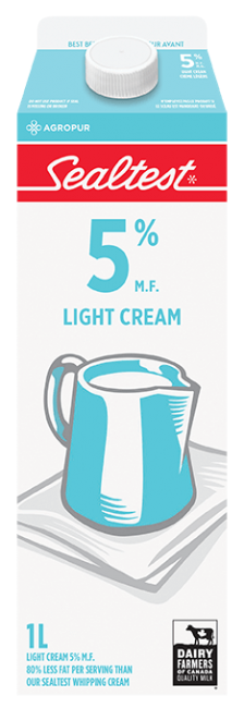 Light Cream 5% Sealtest 1L