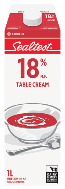 Table Cream 18% Sealtest 1L