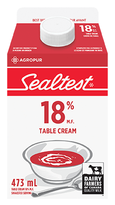 Table Cream 18% Sealtest 473 mL