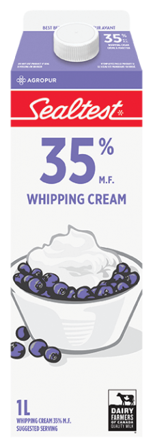 Whipped Cream 35% Sealtest 1L