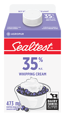 Whipped Cream 35% Sealtest 473 mL