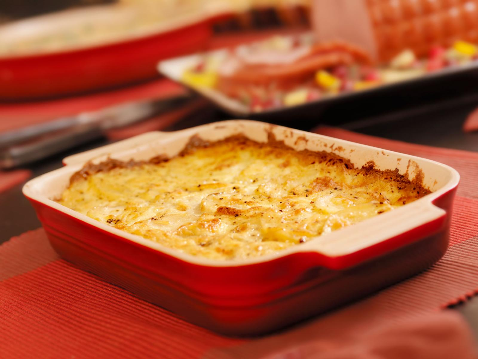 Country Cottage Cheese Potatoes - Gratin de pommes de terre au fromage cottage